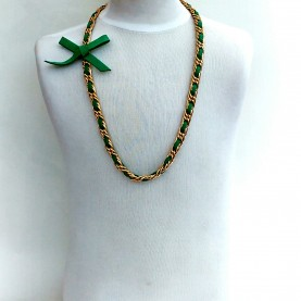 Green neck lace