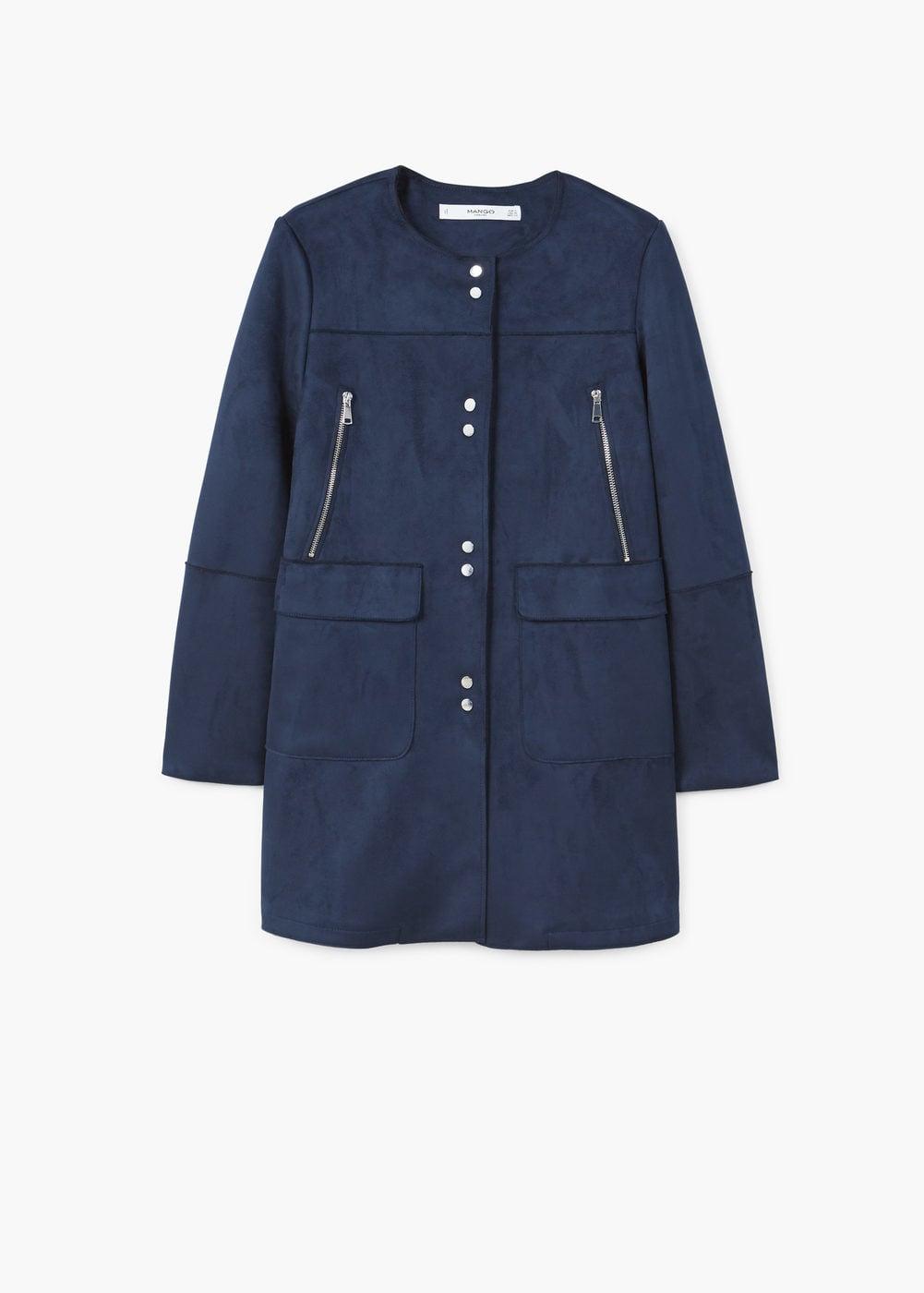 abrigo para look marino