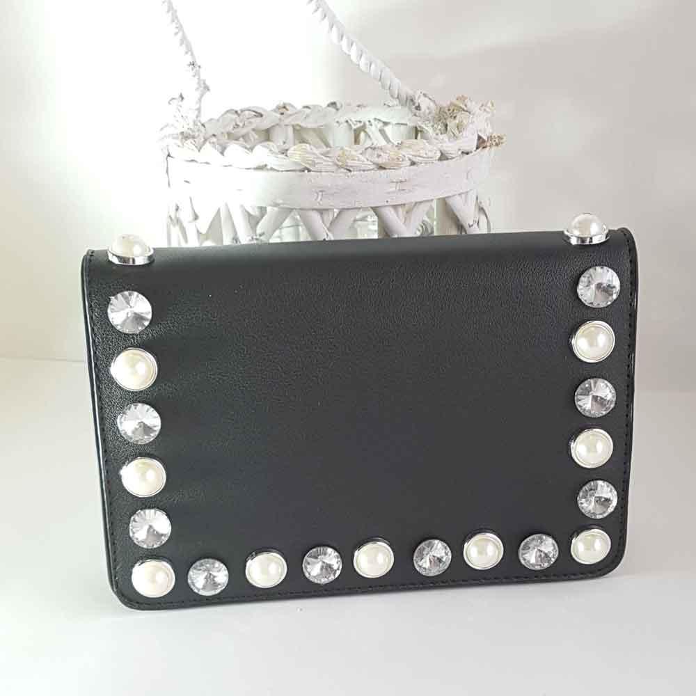 Bolso joya negro