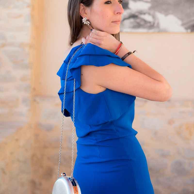 Look azul complementos plata